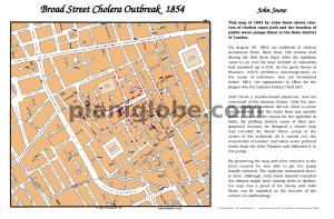 John Snow Cholera Map